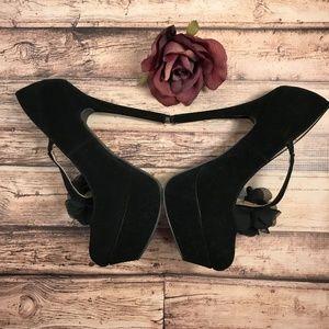 Charlotte Russe Platform Heels Size 8